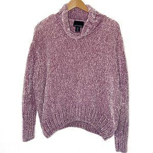Cynthia Rowley Chenille Turtleneck Sweater Medium
